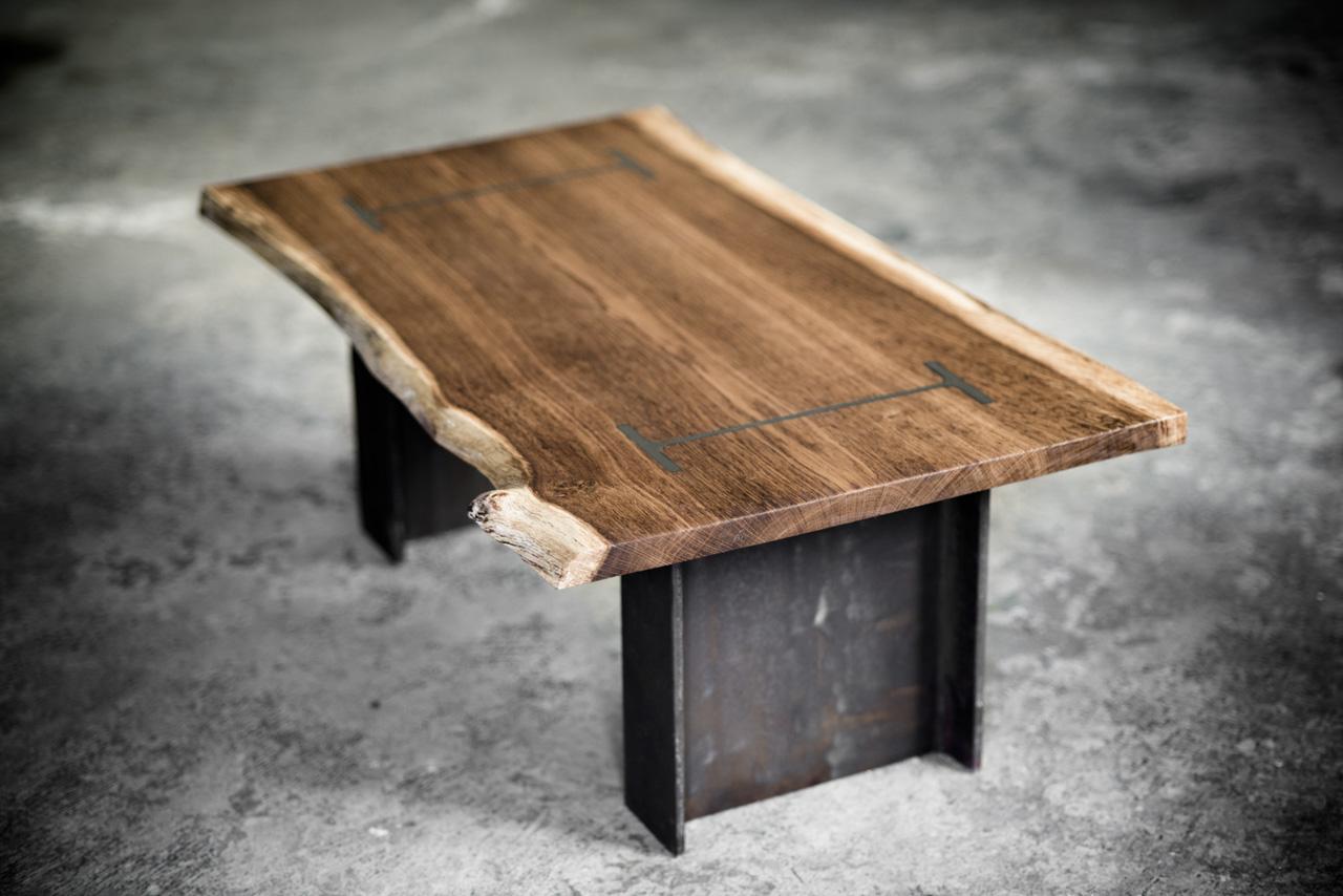 I Beam Coffee Table 1 Bespoke handmade furniture from  : i beam coffee table 1 from www.oneoffoak.co.uk size 1280 x 854 jpeg 266kB