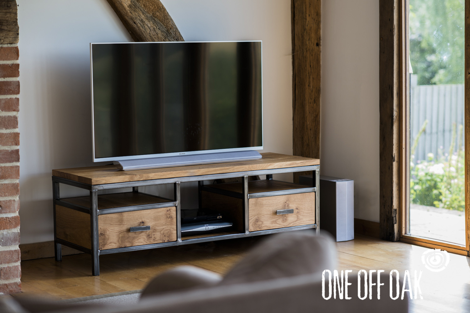 Ordinaire This Bespoke TV Cabinet Was Commissioned For A Client Who Was Fed Up Of  Seeing Their Sky Box, Dvd Player And Associated Cables In A Messy Pile.